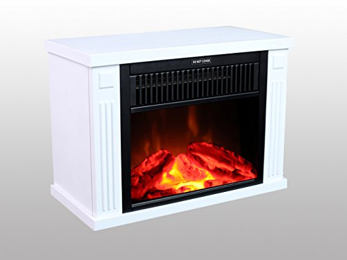 3g Plus 14quot Mini Electric Fireplace Portable Heater Log