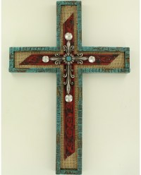 M&F Western Products Home Decor Wall Cross - Fort Brands