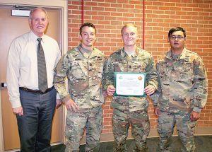 Engineer team receives Net Zero champion honor – Fort Carson Mountaineer