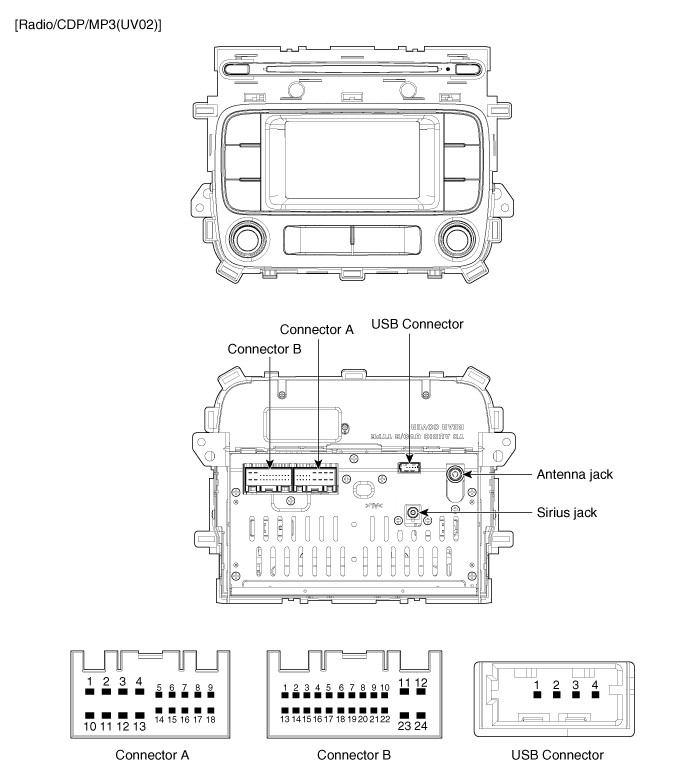 kia ceed radio wiring diagram