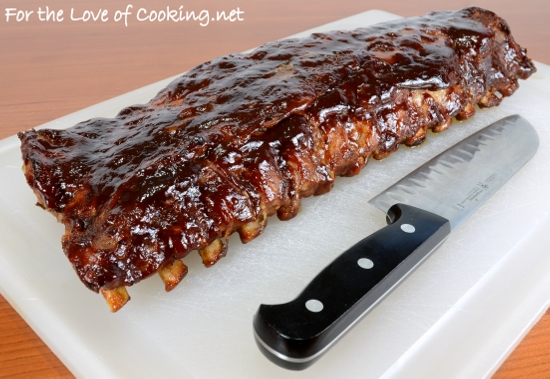 Baked Barbecue Ribs For The Love Of Cooking