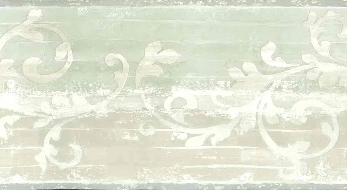 Black And Cream Damask Wallpaper Beige Scroll Vintage Wallpaper Border Green Qc3438 B Free Ship