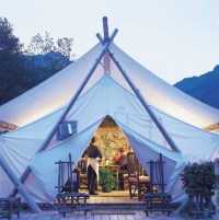Build your Own Canvas Wall Tent