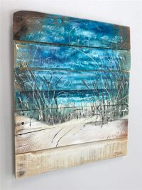 Beach Scene - Beach Art - Ocean - Wall Art - Coastal Decor ...