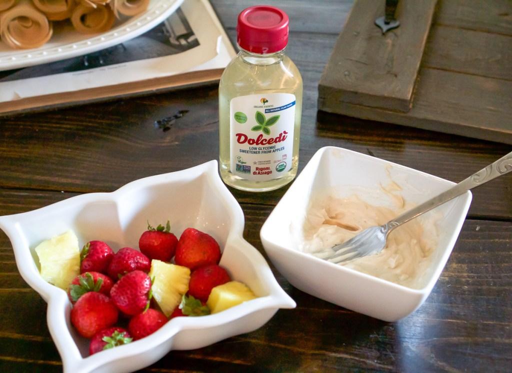 Quick & Healthy Fruit Dip Recipe!
