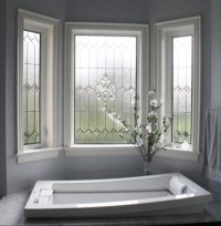 Stained Glass Bathroom Window Designs You'll Love