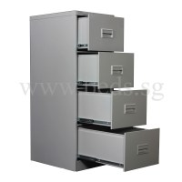 Four Drawer Steel Filing Cabinet | Furniture & Home Dcor ...