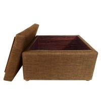 Ottoman Coffee Table, Brown   Furniture & Home Dcor ...