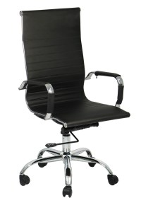 Eames Office Chair Highback Replica (Black) | Furniture ...