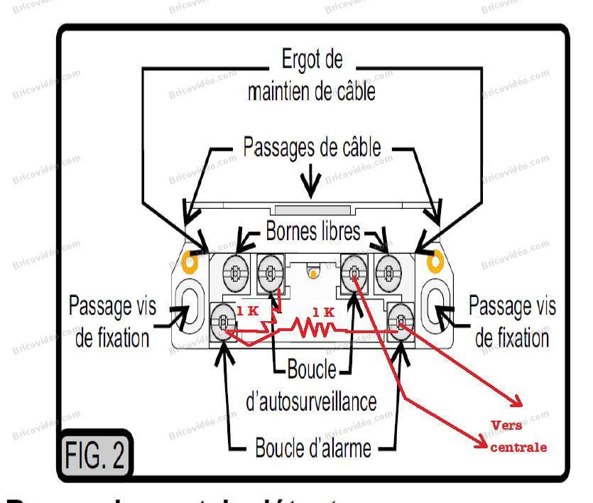 schema cablage double schematic box