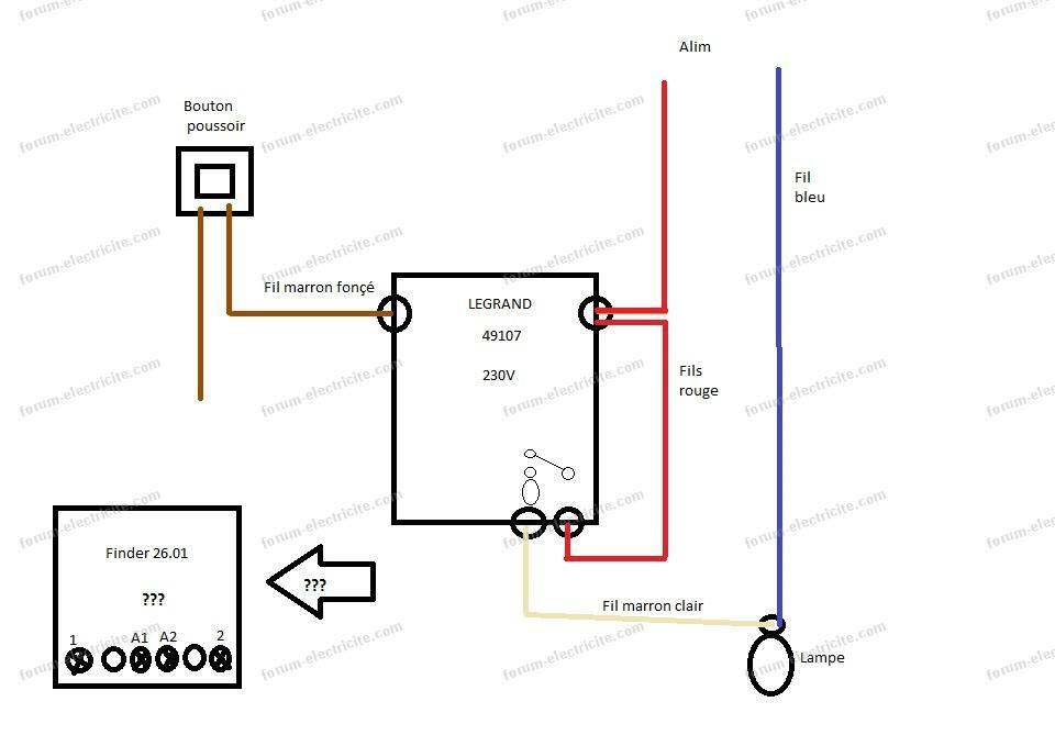 bedford schema cablage telerupteur