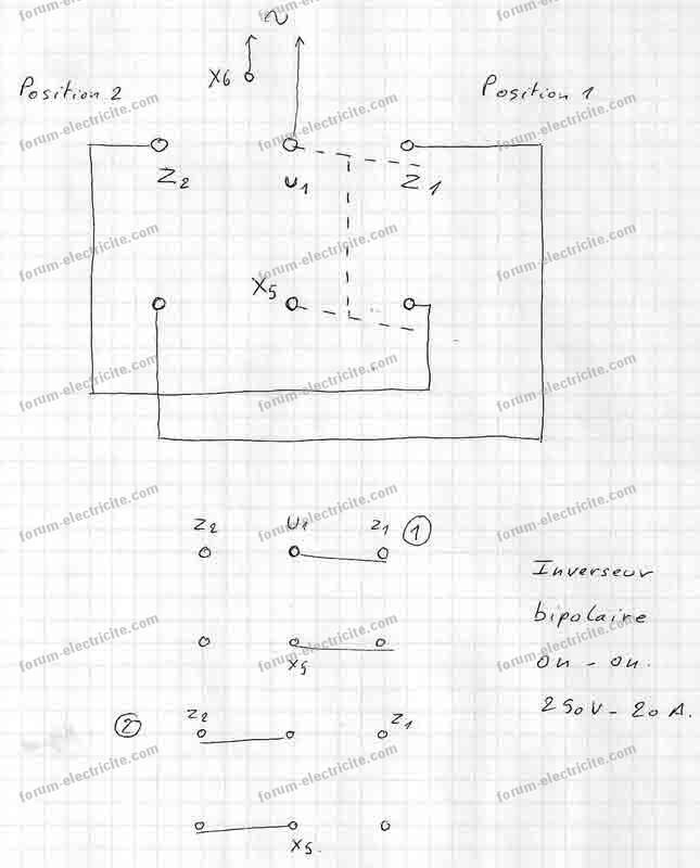 ultima schema moteur monophase deux