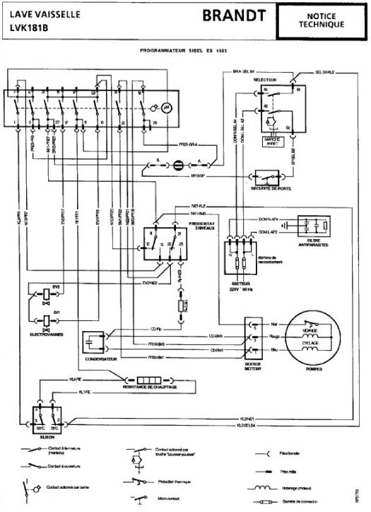 schema electrique lave vaisselle forum d pannage lectrom nager sch ma lectrique lave vaisselle