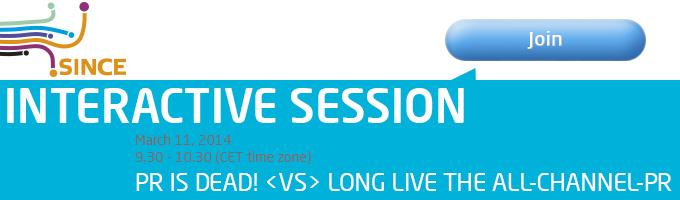 WCF Davos Interactive Session PR is dead!