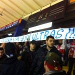 Striscione tifosi squadra hockey Milano