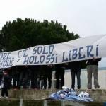Striscione tifosi Terracina