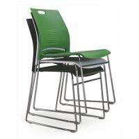 cheap stackable office guest reception chair modern metal ...