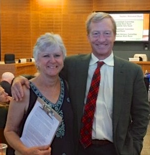 Jane Vosburg & Tom Steyer