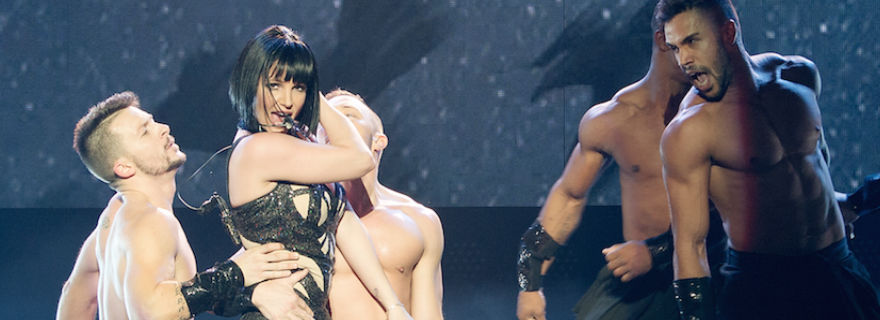 "Ex participante de ""Rojo"" se luce bailando junto a Britney Spears"
