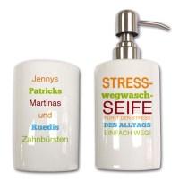 Badezimmer-Set - Spezielle Geschenke von foto-geschenkidee.ch