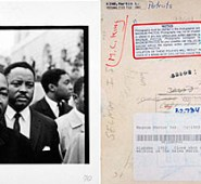 Martin Luther King by Bob Adelman