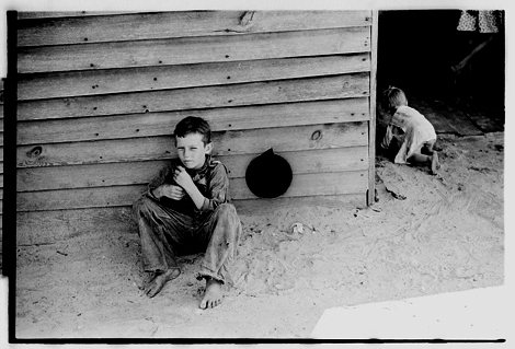 Walker Evans 1936, Floyd Burroughs Jr. Hale County, AL, Library of Congress