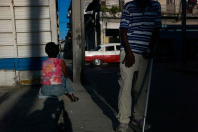 Street scene in Centro Habana, November 2013.