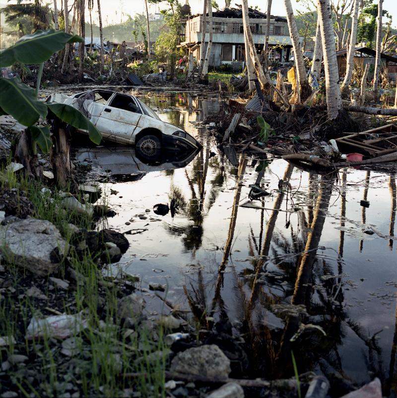 Scene of devastation in Barangay 56-A Tacloban January 6, 2014