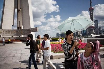 Shanghai, Lujiazui Financial District.