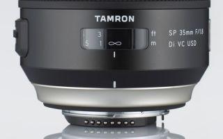 Tamron SP 35mm F/1.8 Di VC USD