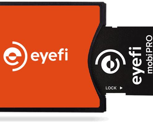 Adaptador Eyefi CF tipo II para tarjetas SD