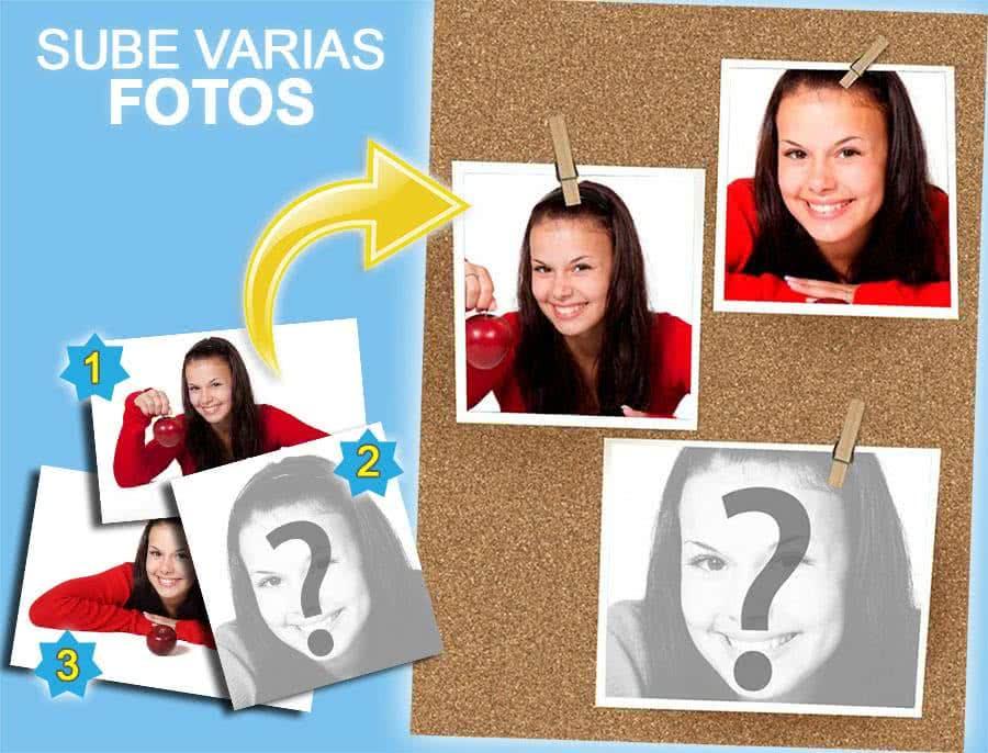 Collages online con varias fotos - Fotoefectos