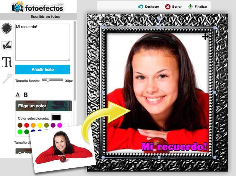 Marcos para fotos - Fotoefectos