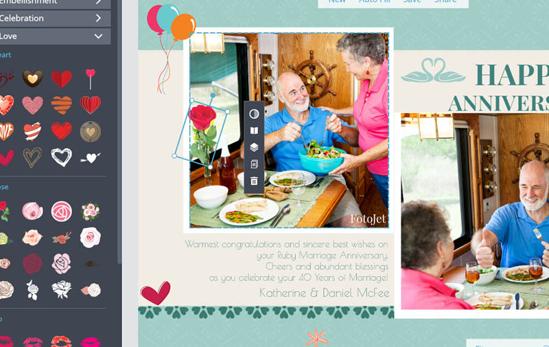 Make Happy Anniversary Cards to Mark Your Sweetest Moments