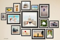 Creative Wall Collage Ideas Give You a Hand on Making Wall