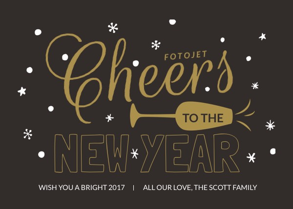 New Year Cards - Create New Year Greeting Cards Online for Free