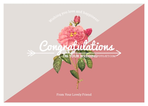 wedding wish cards template - Onwebioinnovate