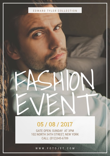 Fashion Posters - Create Custom Fashion Posters Online FotoJet