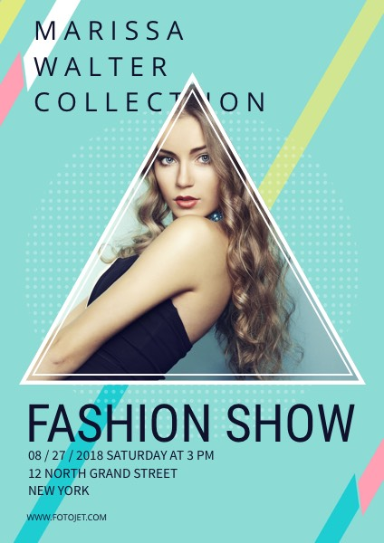 Fashion Posters - Create Custom Fashion Posters Online FotoJet - fashion poster design