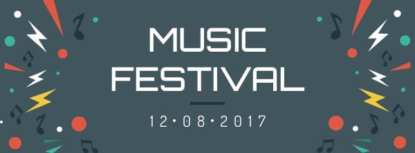 Music Festival Facebook Cover Photo Template Template FotoJet - facebook header template