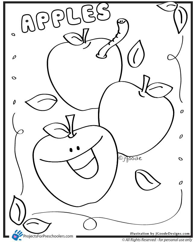 Philadelphia In The Fall Wallpaper Fall Apples Coloring Pages Coloring Page