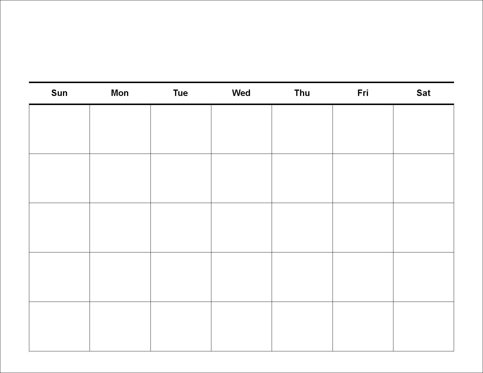 week at a glance calendars