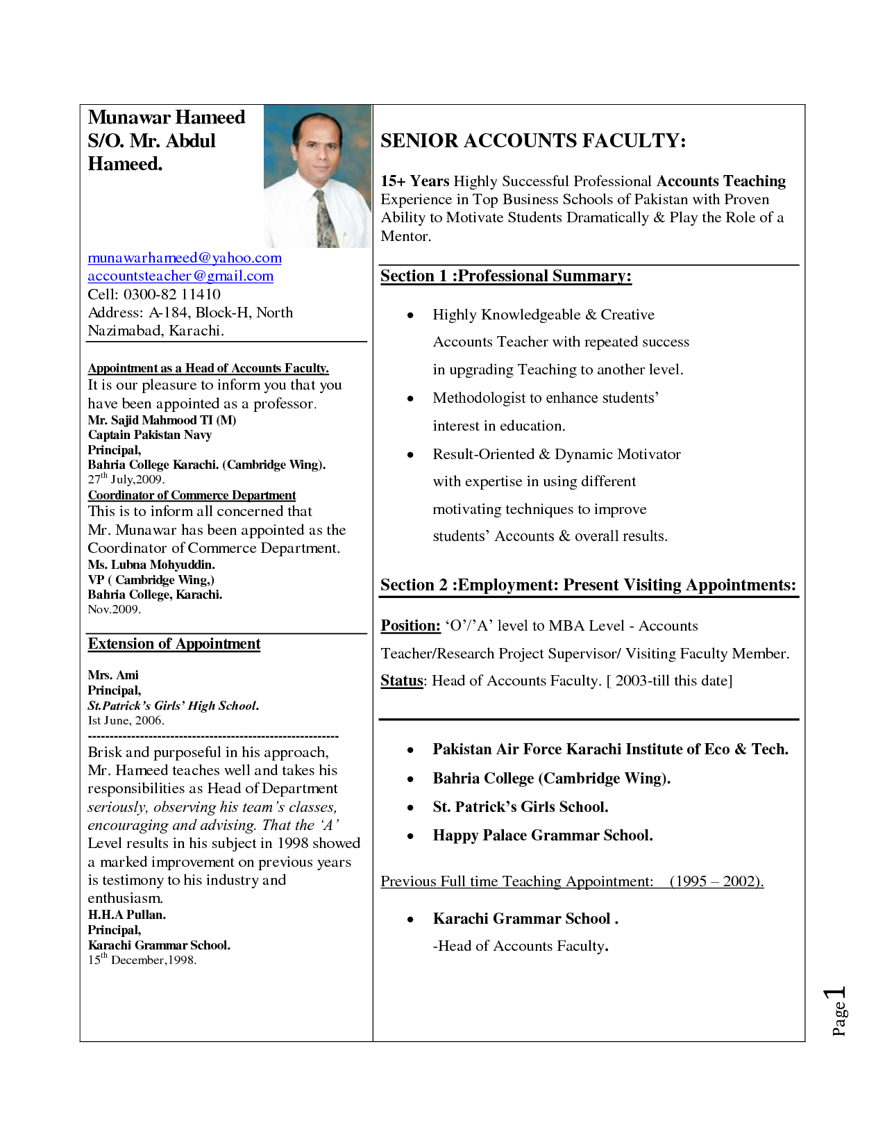 how to write resume 04052017