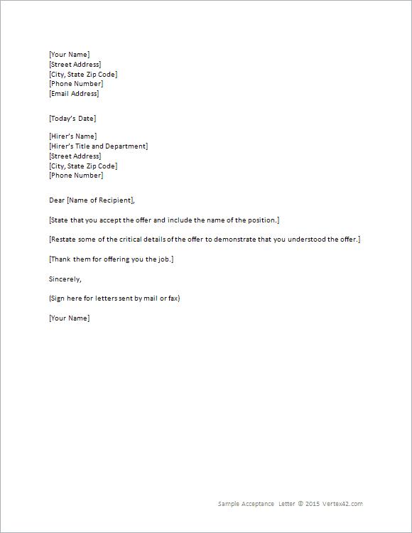 Job Offer Letter Sample Doc Australia   Resignation Letter Samples ...