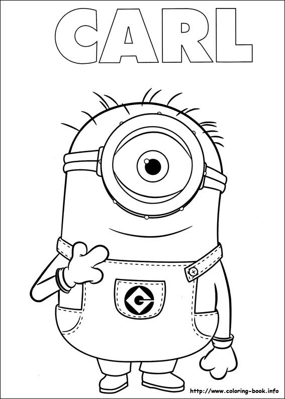 3d Stylish Girl Wallpaper Minion Coloring Pages Fotolip Com Rich Image And Wallpaper