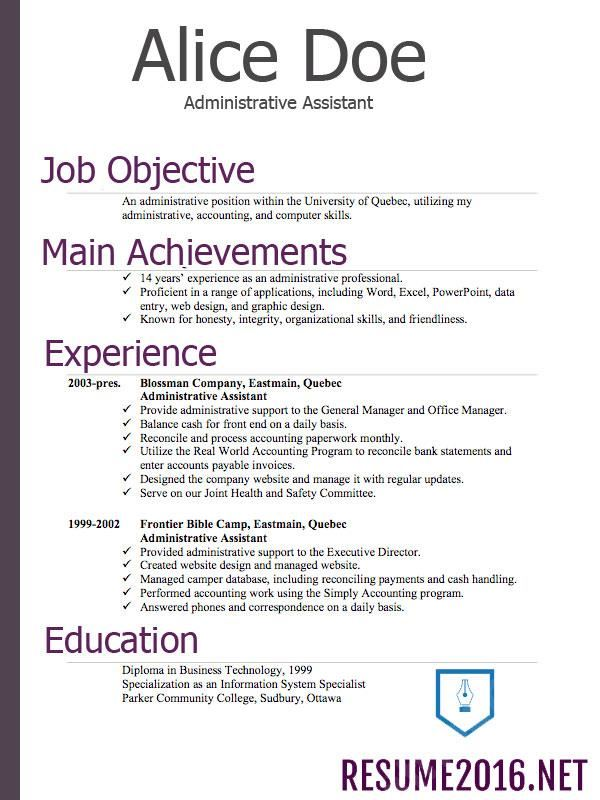 Resume Format Fotolip Rich image and wallpaper - what a resume should look resume
