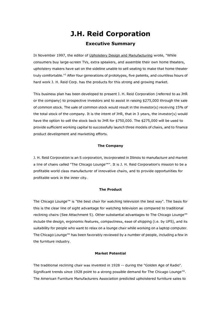 sample business plan - Forteeuforic