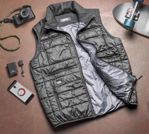 Cooph Heatable Photo Vest