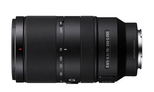 Sony E 70–350 mm F4,5–6,3 G OSS
