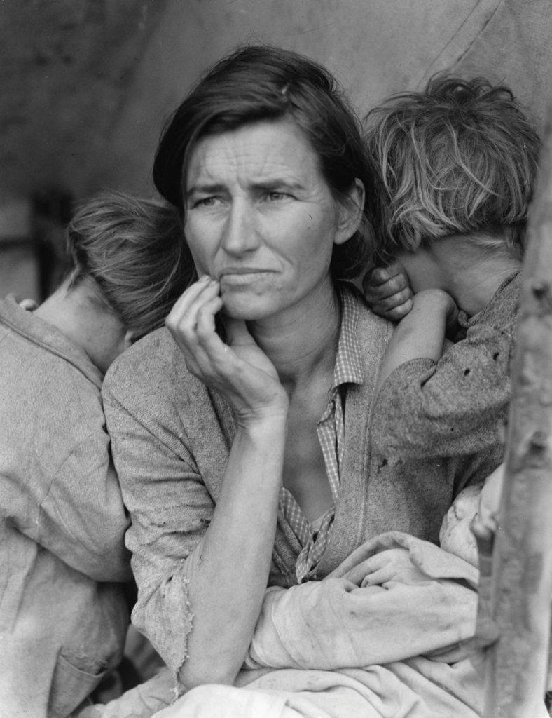 Dorothea Lange, Migrant Mother, Nipomo, California, 1936, Migrant Mother